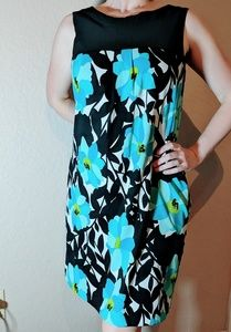 AGB floral print dress size 8